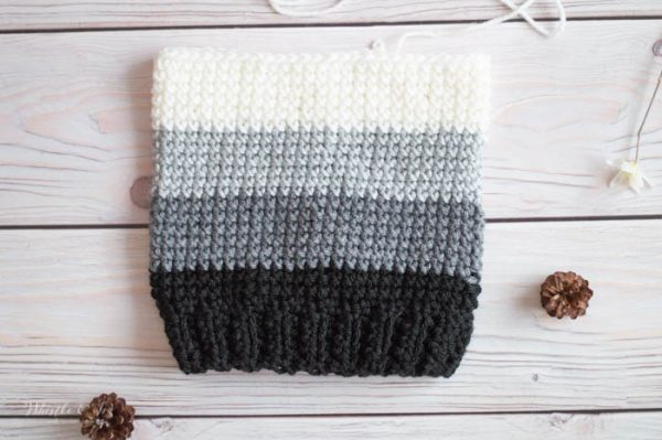 cross stitch single hat free crochet pattern