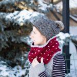 Chunky Snowfall Fair Isle Cowl – Free Crochet Pattern