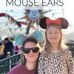 Crochet Mouse Ears – Free Crochet Pattern