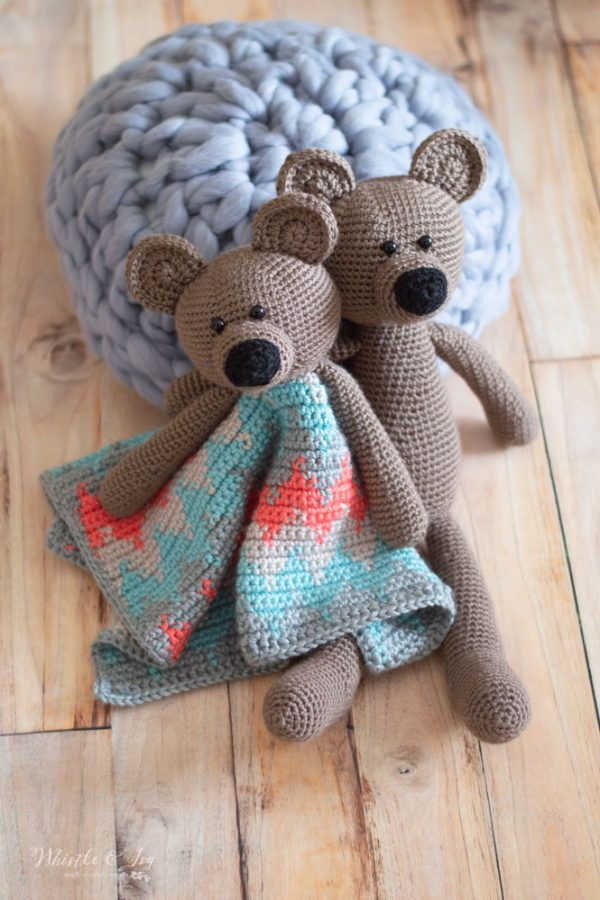 cute crochet bear crochet pattern