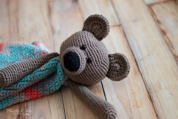 Poca the Bear Crochet Along - Whistle and Ivy