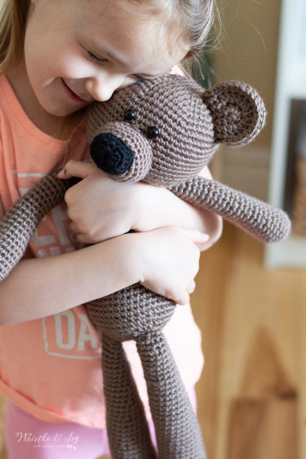 adorable crochet teddy bear crochet pattern toys