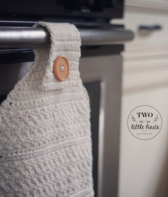 Crochet JUNIPER TOWEL SET