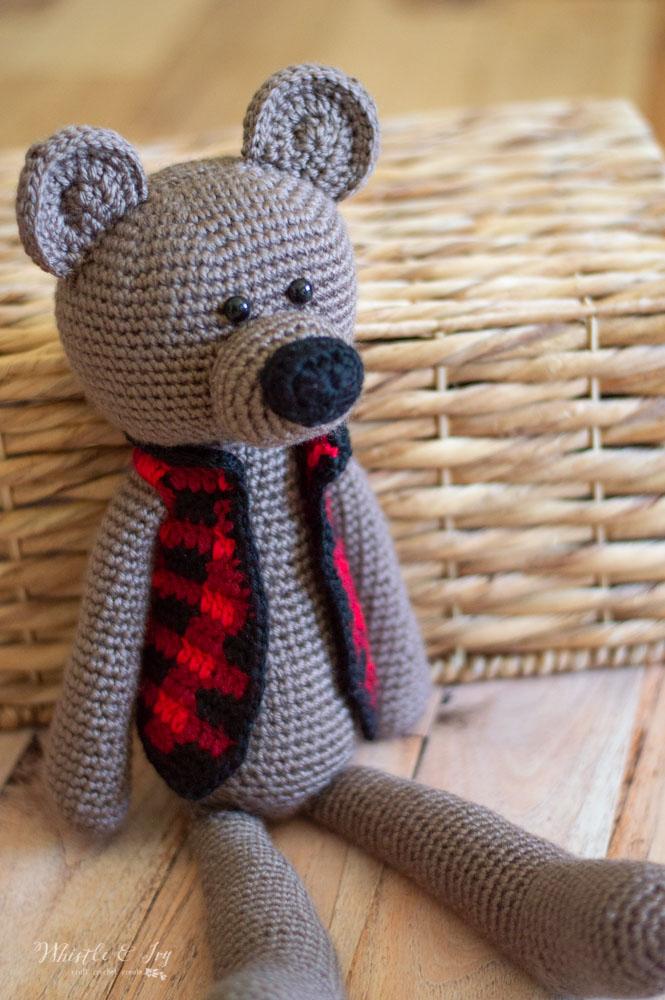 My Hobby Is Crochet: Polar Bear & Brown Bear Appliques - Free ...   1000x665