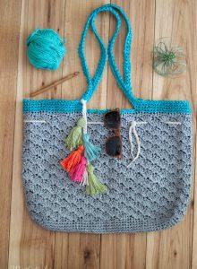 259da545d Summer Crochet Raffia Tote – Free Crochet Pattern