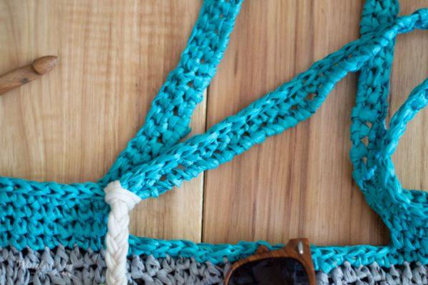 raffia beach tote free crochet pattern