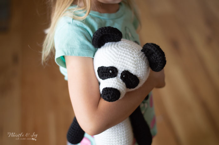 The Panda Bear - Amigurumi pattern by Kipre & Pähkla - Ravelry | 465x700