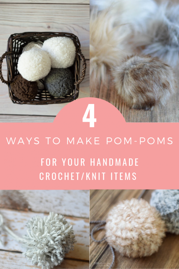 four ways to make pom poms