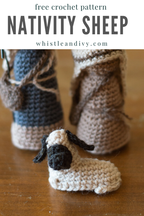 crochet nativity sheep free crochet pattern lamb willow tree