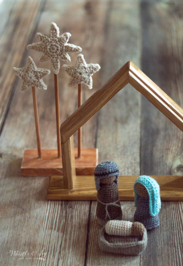 crochet nativity free pattern crochet nativity stars display