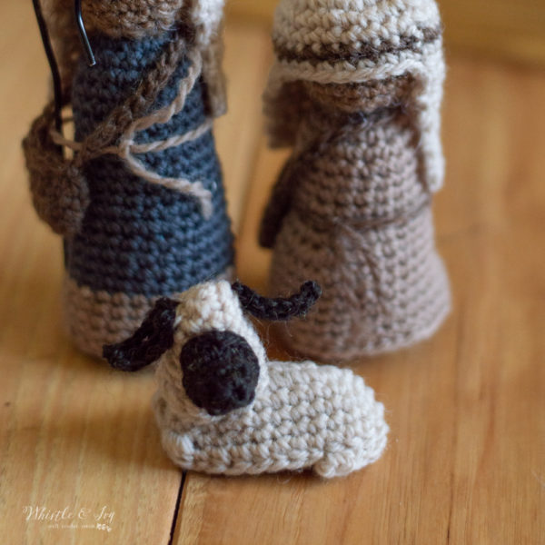 cute crochet nativity sheep free crochet pattern willow tree