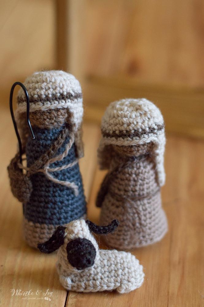 crochet sheep for nativity free crochet pattern