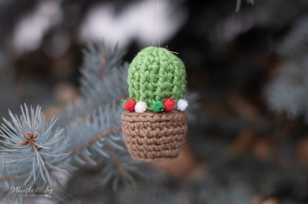 small barrel cactus crochet pattern