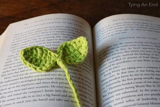 Budding Leaf Bookmark