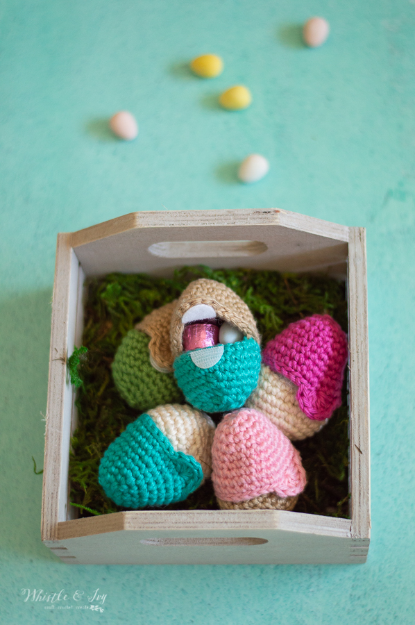 fillable crochet Easter egg crochet pattern for egg hunts and easter baskets crochet egg