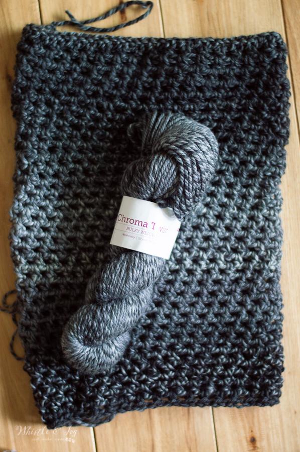 easy crochet cowl free crochet pattern