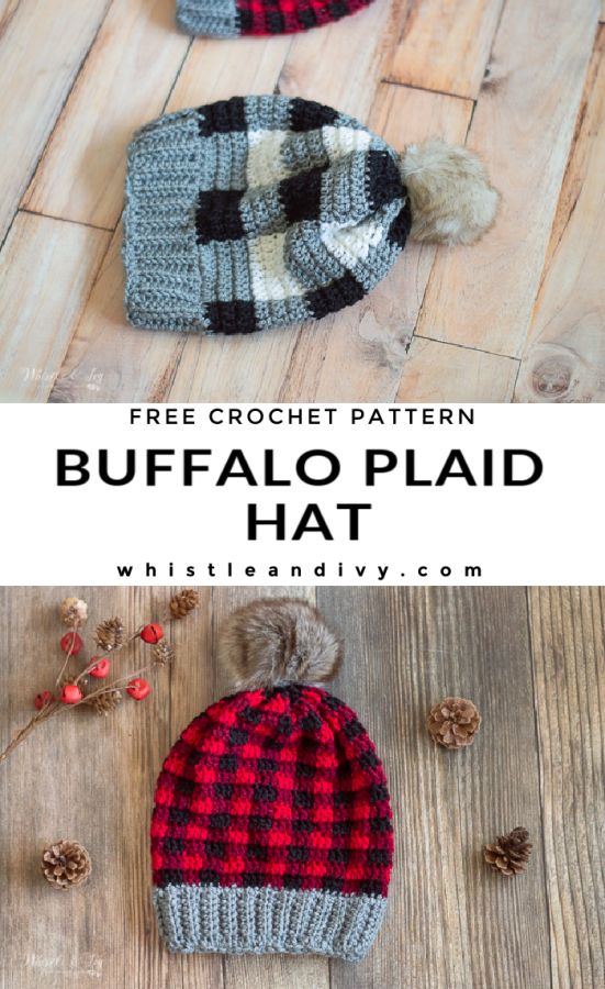 crochet plaid hat free crochet pattern how to crochet plaid
