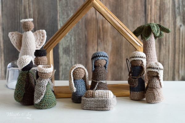 rustic crochet nativity christmas and holiday crochet ideas and gifts beautiful and modern crochet pattern
