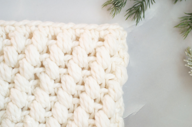 beautiful crochet puff stitch pattern for hat