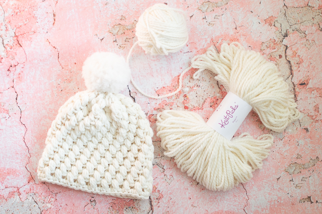 pretty puff stitch crochet hat pattern free crochet pattern winter hat
