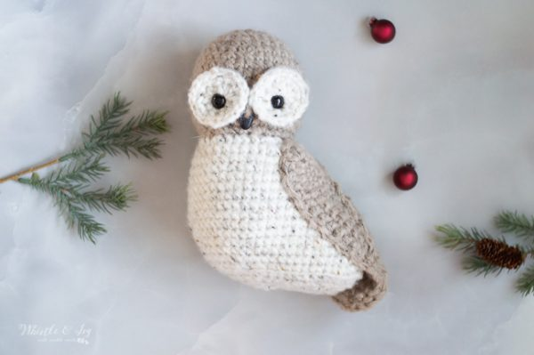 crochet owl tree topper crochet pattern