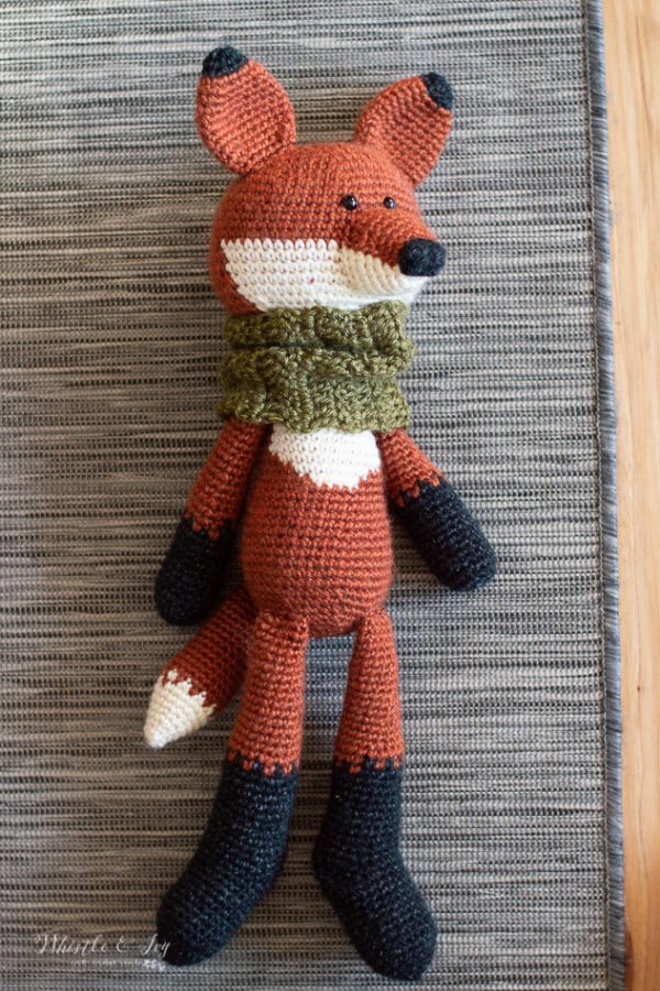 cute fox with cowl crochet pattern toy amigurumi fox crochet pattern