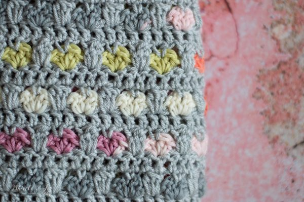 crochet hearts crochet heart stitch pattern crochet heart blanket pattern