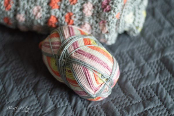 self striping yarn Felici WeCrochet