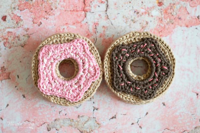 crochet donuts crochet pattern crochet doughnuts pattern free pattern
