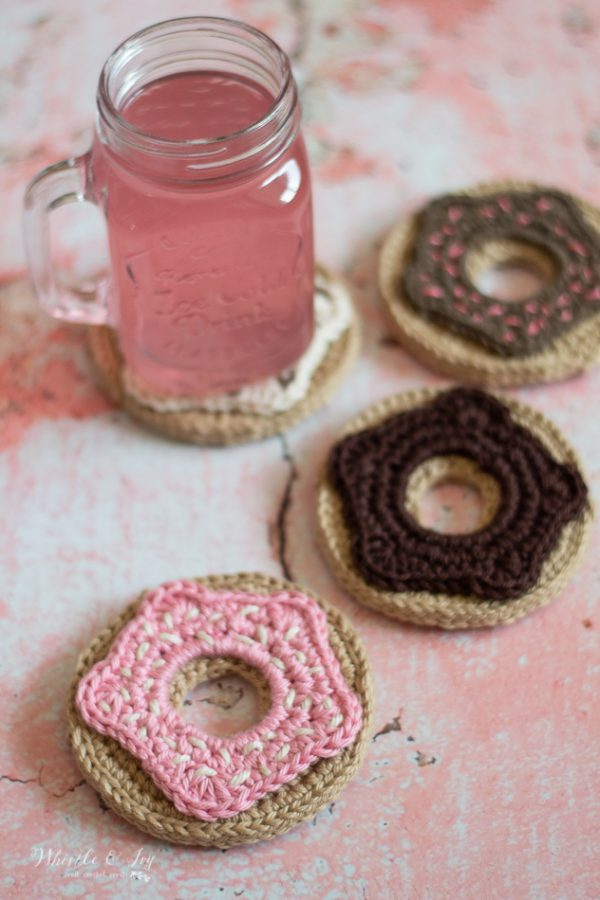 crochet donut crochet doughnut crochet pattern cute dessert crochet ideas play food