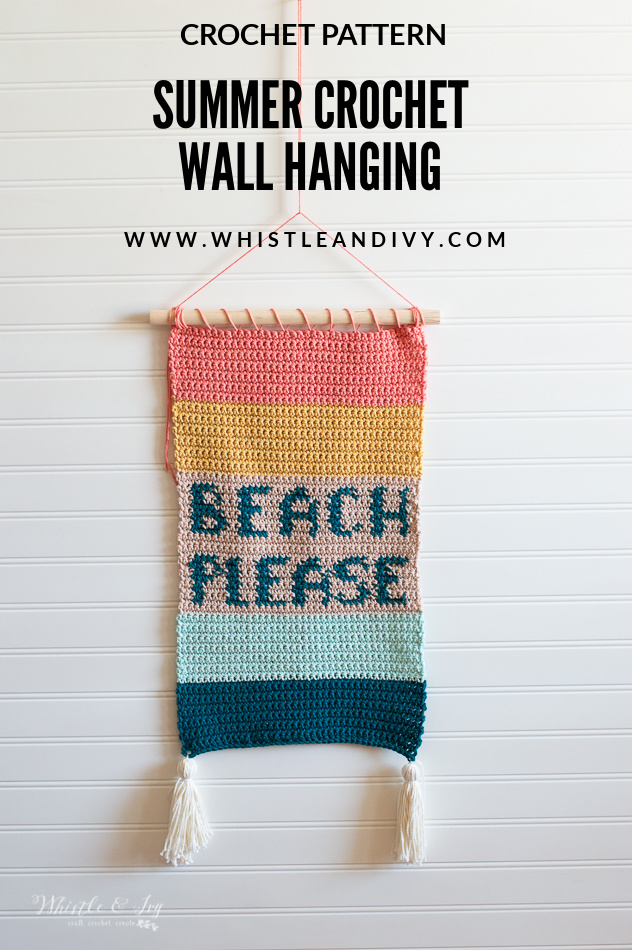 crochet wall hanging summer crochet wall hanging pattern crochet patterns