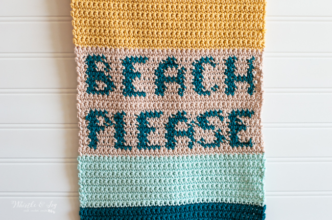 crochet beach please color work crochet pattern summer