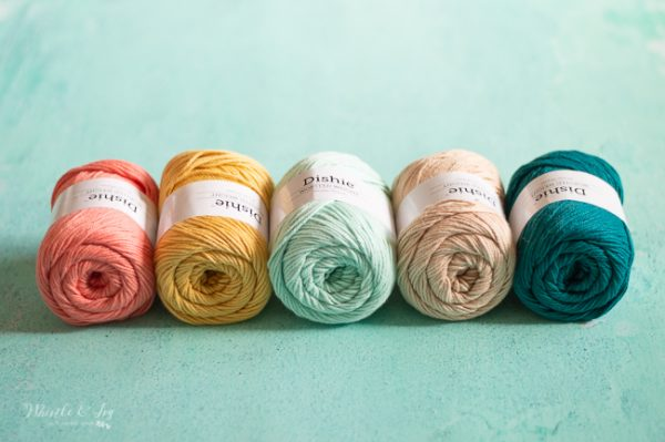 beachy summer color yarn palette
