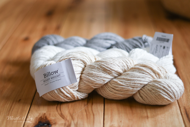 cotton yarn hank neutral colors