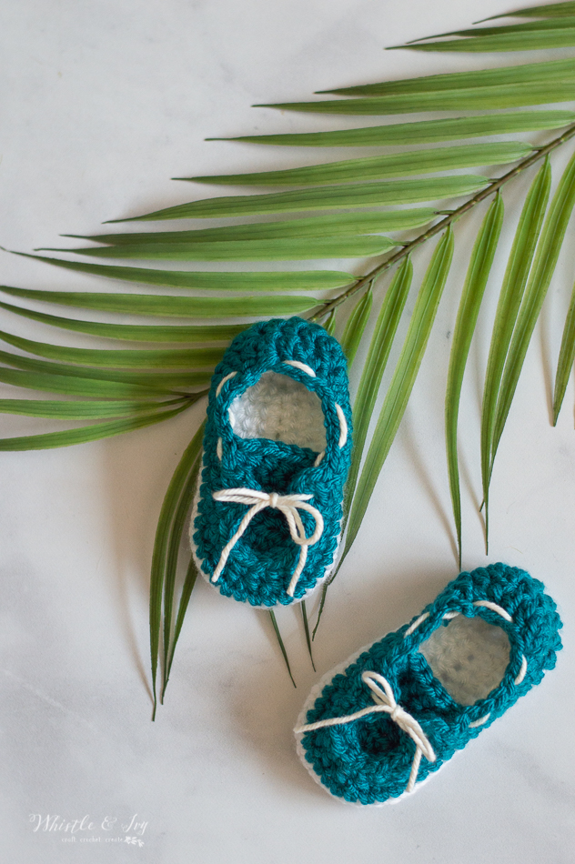 darling cue crochet baby boat booties toddler boat shoes crochet pattern