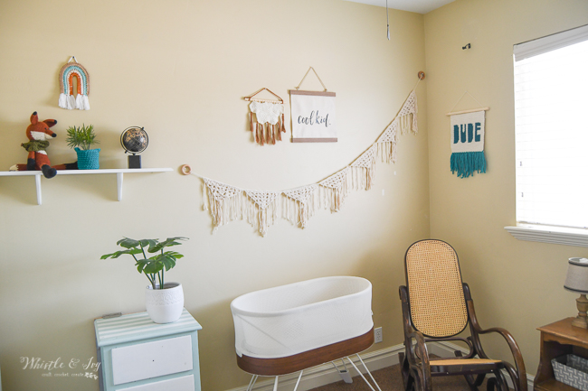 crochet nursery ideas for modern boho baby